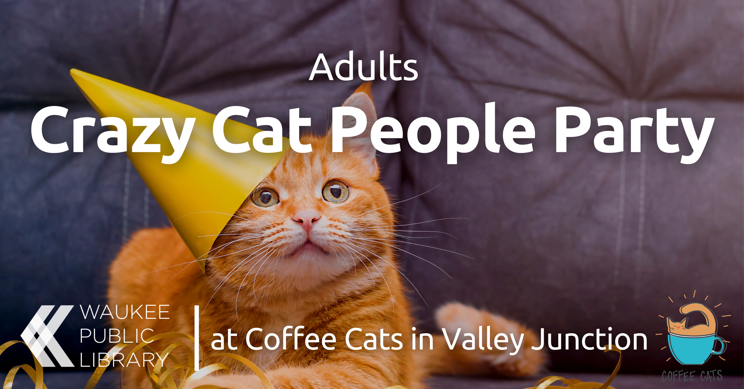Crazy Cat People Party