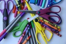 Image of craft supplies.